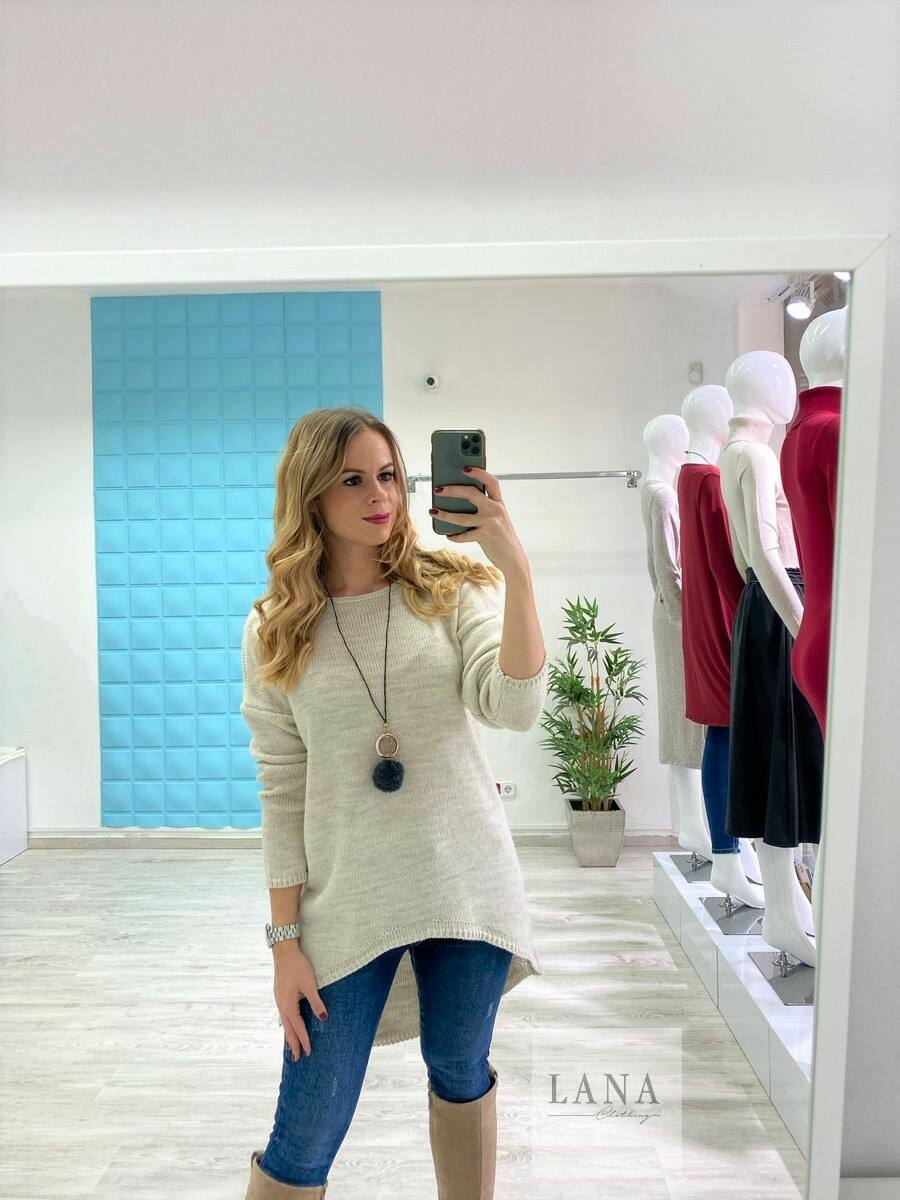 Kimberly pulóver nyaklánccal